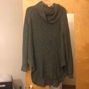 Olive green long sweater
